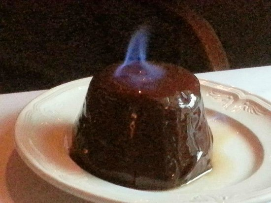 YE OLDE TAVERN: Chocolate Bombe Flambe
