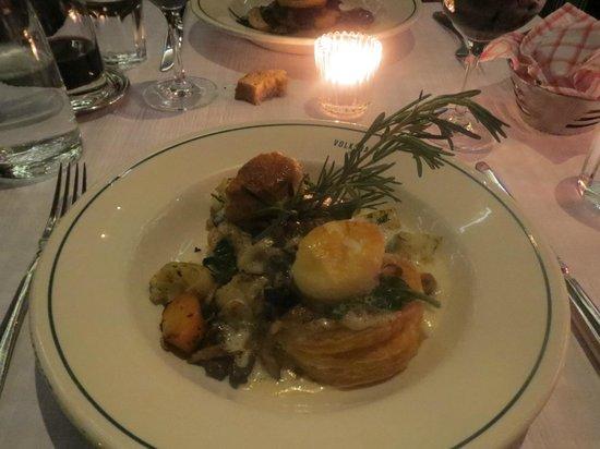 Restaurant Volkshaus: Pastetchen mit Gemüse