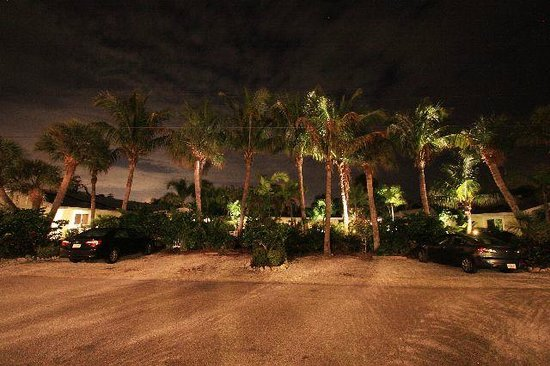 An Island Getaway at Palm Tree Villas: Parking area