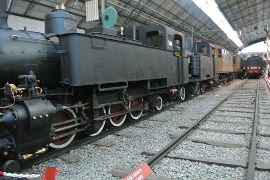 Museo della Scienza e della Tecnologia Leonardo da Vinci: Locomotiva