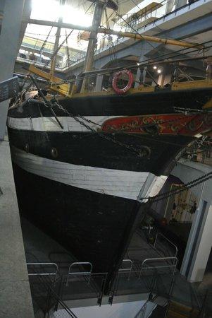 Museo della Scienza e della Tecnologia Leonardo da Vinci: Nave Ebe