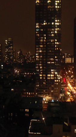 The Marmara Manhattan: EVENING VIEW FROM OUR ROOM