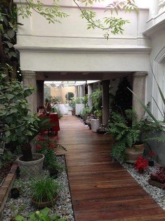 Hotel Villa Condesa: Eingangsbereich