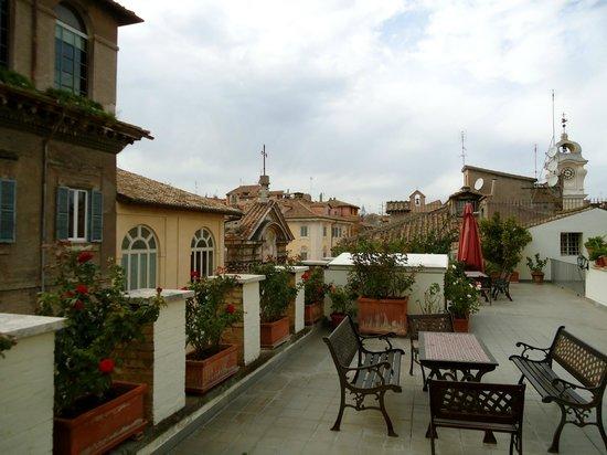 Casa di Santa Brigida: rooftop