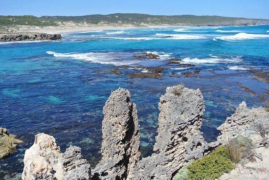 Seascape Lodge on Emu Bay: kangaroo island beauty