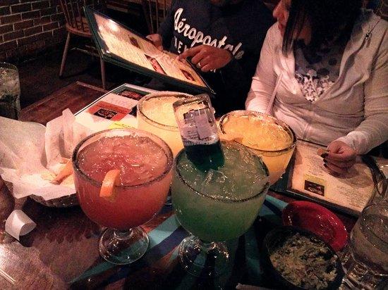 Blue Agave Mexican Cusine: 30 ounce margaritas!