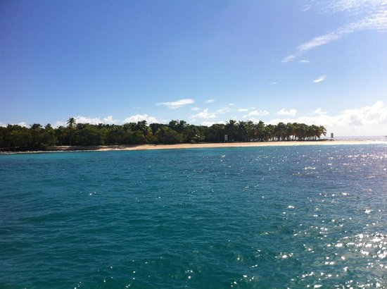 Erin Go Bragh Sailing & Snorkeling Charters: Ricky Martin's private island