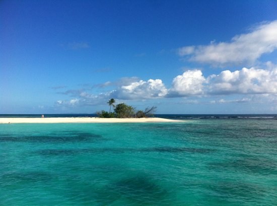 Erin Go Bragh Sailing & Snorkeling Charters: Recognize this island from the Pirates movie?