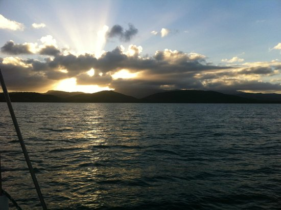 Erin Go Bragh Sailing & Snorkeling Charters: Sunset
