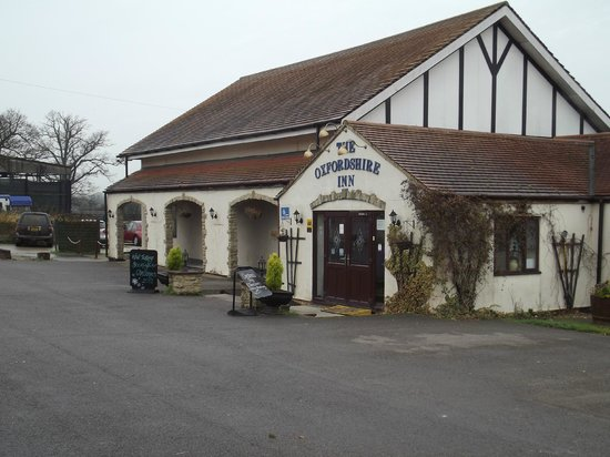 The Oxfordshire Inn Hotel: Entrance