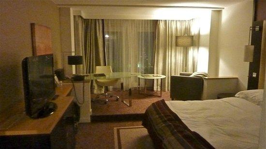 Hilton Vienna Danube Waterfront: la chambre