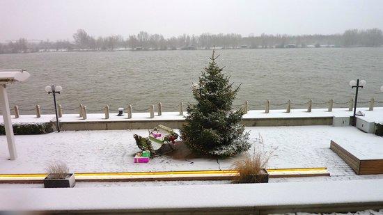 Hilton Vienna Danube Waterfront: apres la neige