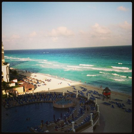 CasaMagna Marriott Cancun: the view from our room