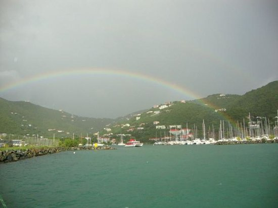 Aristocat Charters: Beautiful rainbow to start the day