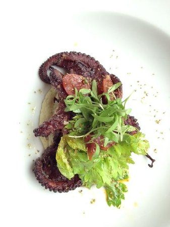 Hyatt Centric The Woodlands: Spanish octopus with chorizo