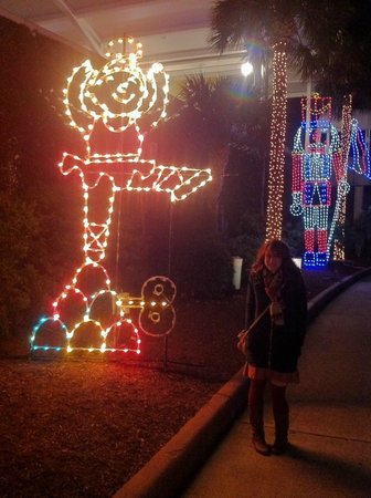 Moody Gardens: Ballerina In The Festival Of Lights