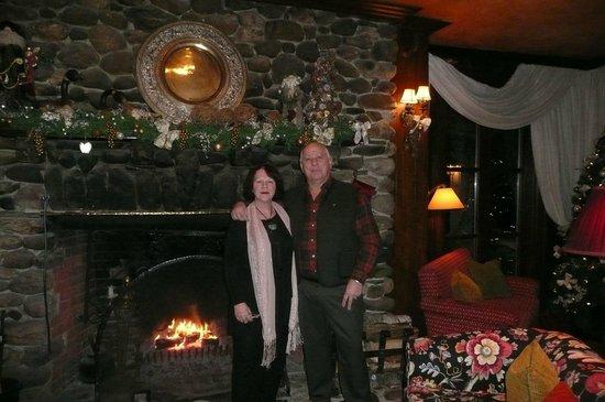 Manoir Hovey: Au grand Salon avant d'aller souper