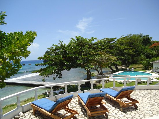 The Resort at Wilks Bay: Property view from 3-bedroom villa