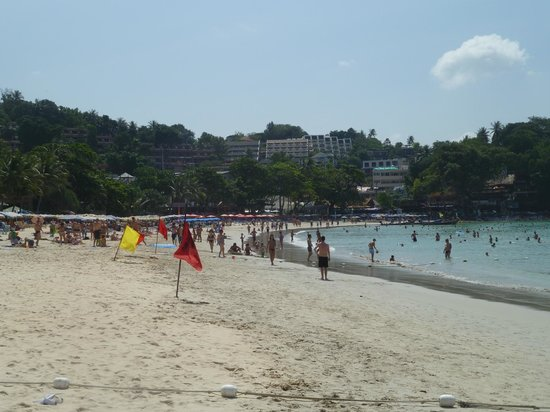 Пляж Ката: Kata Beach--gradual slope to deeper water