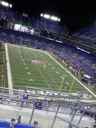 M&T Bank Stadium: First night game