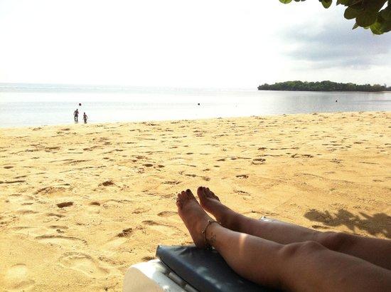 Nusa Dua Beach Hotel & Spa: Beach