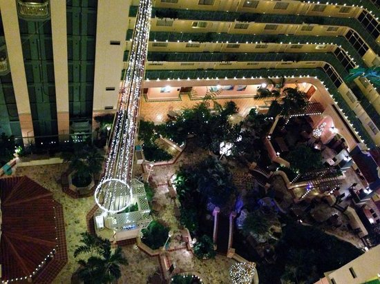 Embassy Suites by Hilton Fort Lauderdale 17th Street: Atrium/Countyard Area