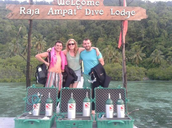 Raja Ampat Dive Lodge: Ready for safe diving