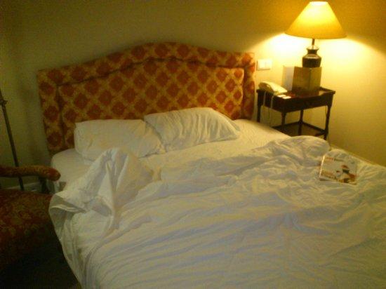 Larissa Imperial: Κρεβάτι πολυκαιρισμένο. Σχετικά άνετο. Θα περιμέναμε καλύτερο