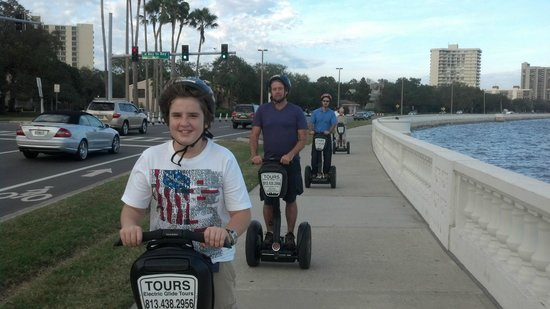Electric Glide Tours : You Can't Help But Smile When You Ride A Segway PT!