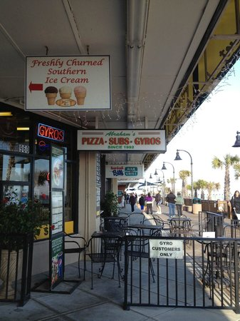 Abraham S Gyros 9 Of 760 Restaurants In Myrtle Beach