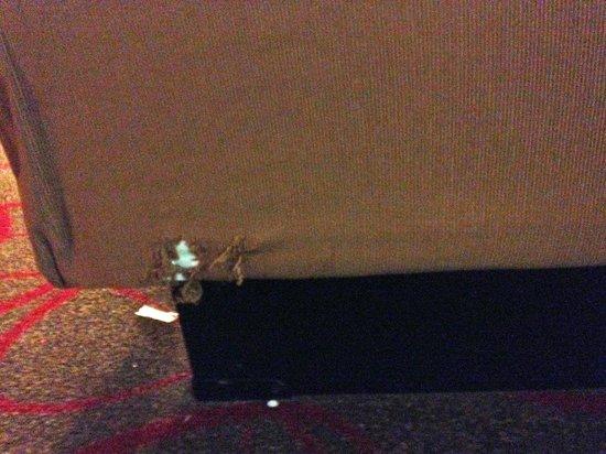 Bally's Atlantic City : covered mattress box spring