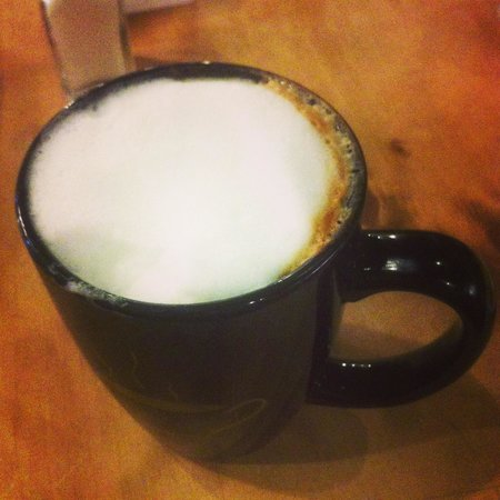 Harvest Cafe: A Capuccino at Harvest Caffe