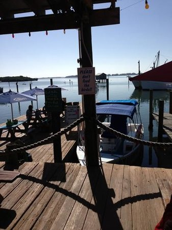 Star Fish Company Dockside Restaurant: view