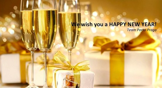 Porto Praga Global Food & Wines: Happy New Year