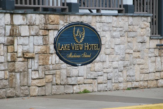 Lake View Hotel: Hotelschild