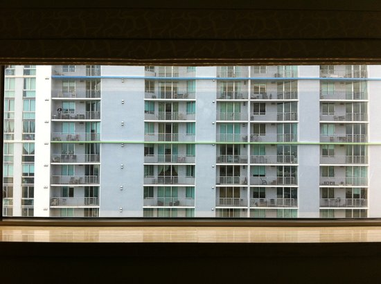 InterContinental Miami: Booked Bayview, Upgraded to this view (Sitting Room)