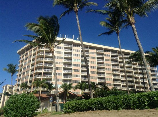 Royal Kahana: The hotel - taken on the beach
