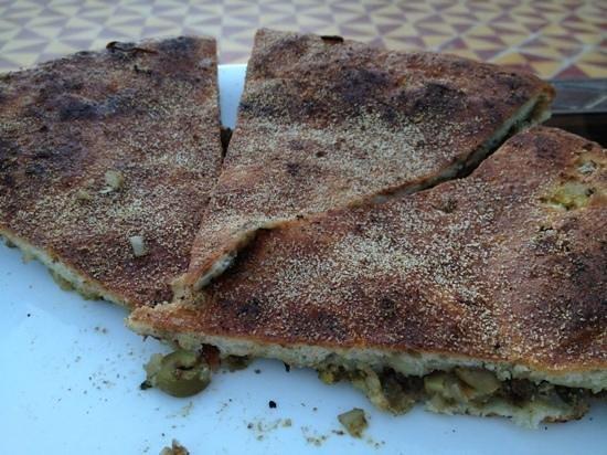 Nasser Palace Hotel & Bivouacs: Pizza Bereber
