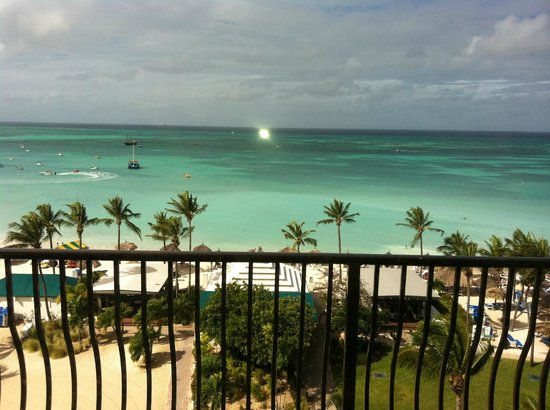 Aruba Marriott Resort & Stellaris Casino: View from Governor's Suite balcony