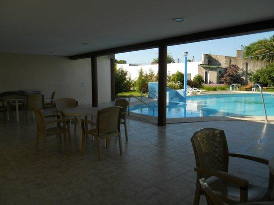 Carhue, Argentinië: area de la piscina