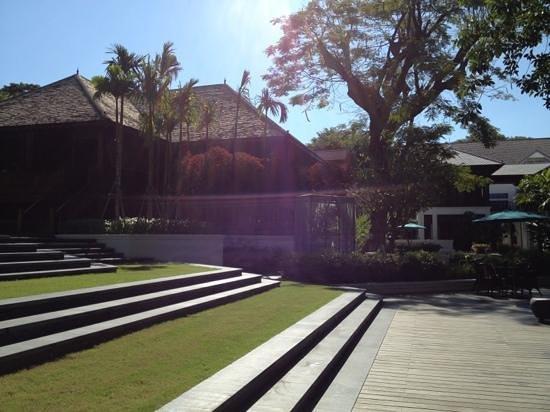 137 Pillars House Chiang Mai: jardins et terrasses