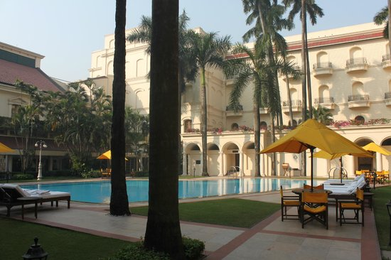 The Oberoi Grand: Central Courtyard - Pool Area