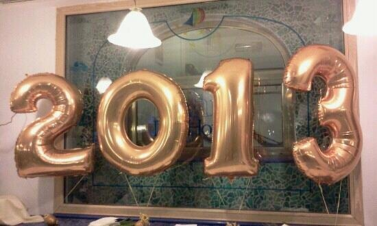 Il 2013 in arrivo all'Aragona Palace Hotel