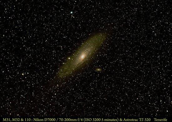 Parador de Canadas del Teide : Andromeda Galaxy M31