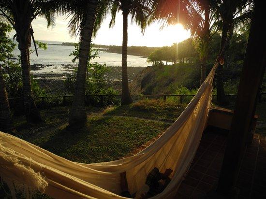 Hotel Villa Romana: hammock on the deck