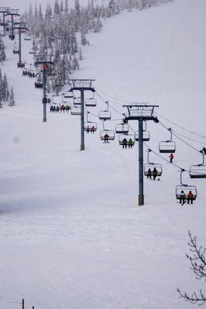 Schweitzer Mountain: Ski Lift