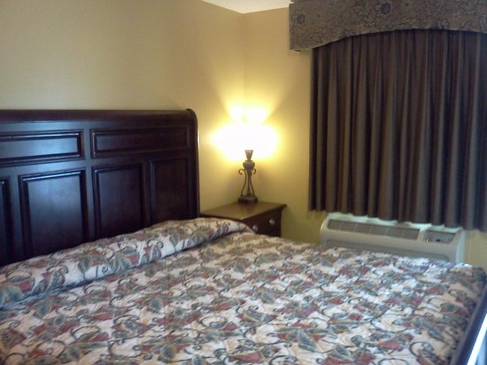 Hotel Pharr Plaza: The bed was very comfortable and clean.
