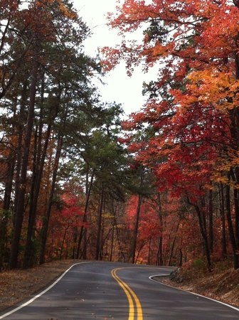 Hot Springs National Park: Fall colors