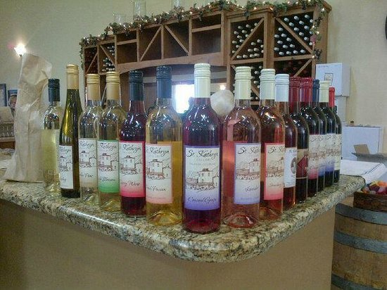 Talon Winery: I like the variety of wines.