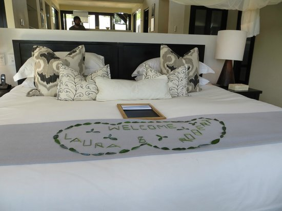 Lion Sands Ivory Lodge : Bed